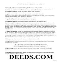 Pleasants County Power of Attorney Guidelines Page 1