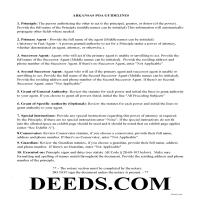 Dallas County Power of Attorney Guidelines Page 1