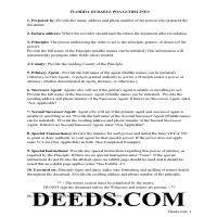 Liberty County Power of Attorney Guidelines Page 1