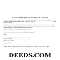 Scott County Agents Certification Form Page 1