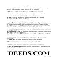 Chemung County Contract for Deed Guidelines Page 1