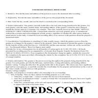 Alamosa County Guidelines for Mineral Deed Page 1
