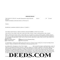 Dunklin County Deed of Trust Form Page 1
