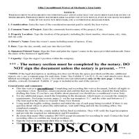 Miami County Unconditional Lien Waiver Guide Page 1