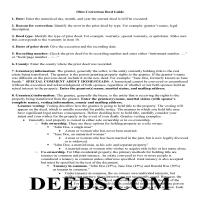 Miami County Correction Deed Guide Page 1