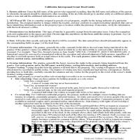 Alameda County Interspousal Transfer Grant Deed Guide Page 1