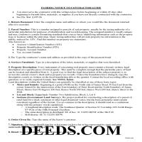 Palm Beach County Notice to Contractor Guide Page 1
