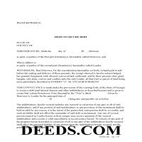Jeff Davis County Deed to Secure Debt Page 1