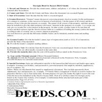 Jeff Davis County Deed to Secure Debt Guidelines Page 1