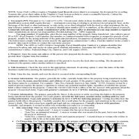 Danville City Gift Deed Special Warranty Guide Page 1