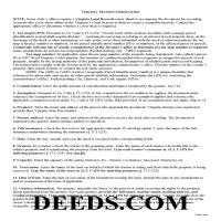 New Kent County Trustee Deed Guide Page 1