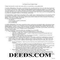 Carbon County Grant Deed Guide Page 1