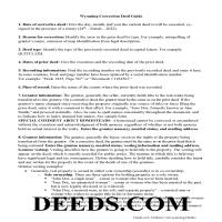 Lincoln County Correction Deed Guide Page 1