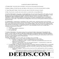 Perry County Warranty Deed Guide Page 1