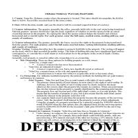 Butler County Special Warranty Deed Guide Page 1