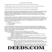Choctaw County Grant Deed Guide Page 1