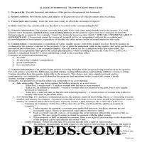 Perry County Interspousal Transfer Grant Deed Guide Page 1