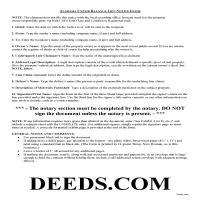 Greene County Notice of Unpaid Balance Lien Guide Page 1
