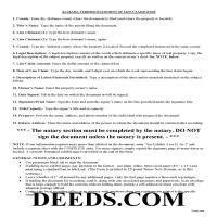 Lawrence County Verified Statement of Lien Guide Page 1