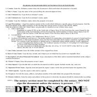 Perry County Acknowledgment of Satisfaction Guide Page 1