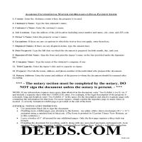 Wilcox County Unconditional Lien Waiver on Final Payment Guide Page 1