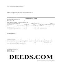 Choctaw County Correction Deed Form Page 1