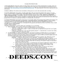 Dillingham Borough Gift Deed Guide Page 1