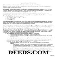 Cochise County Trustee Deed Guide Page 1