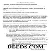 Navajo County Trustee Deed Upon Sale Guide Page 1