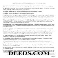 Navajo County Affidavit of Disclosure Guide Page 1