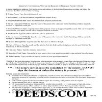 Yuma County Unconditional Lien Waiver of Progress Payment Guide Page 1
