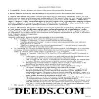 Lee County Gift Deed Guide Page 1