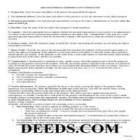 Ouachita County Personal Representative Deed Guide Page 1