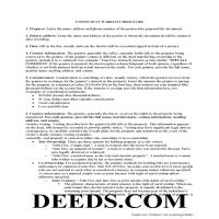 New Haven County Warranty Deed Guide Page 1