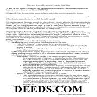 Sussex County Quit Claim Deed Guide Page 1