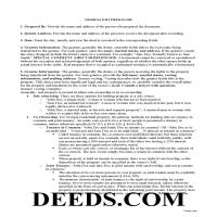Jeff Davis County Gift Deed Guide Page 1