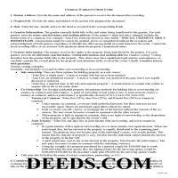 Jeff Davis County Warranty Deed Guide Page 1