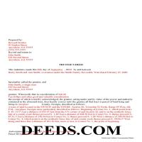 Jeff Davis County Completed Example of the Trustee Deed Document Page 1
