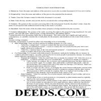 Jeff Davis County Executor Deed Guide Page 1