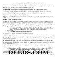Jeff Davis County Interim Lien Waiver and Release Guide Page 1