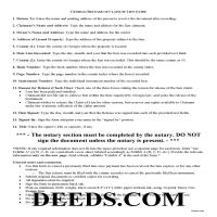 Jeff Davis County Release of Claim of Lien Guide Page 1