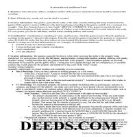 Henderson County Quit Claim Deed Guide Page 1