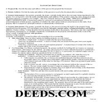 Madison County Gift Deed Guide Page 1