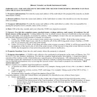 Jersey County Transfer on Death Instrument Guide Page 1