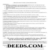Stephenson County Transfer on Death Revocation Guide Page 1