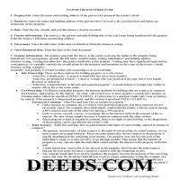 Cass County Trustee Deed Guide Page 1