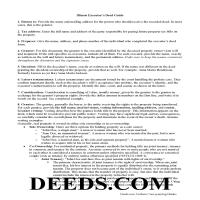 Lee County Executor Deed Guide Page 1