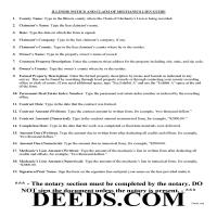 Scott County Notice of Mechanics Lien Guide Page 1