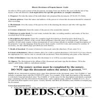 Scott County Disclaimer of Interest Guide Page 1
