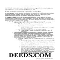Dearborn County Transfer on Death Deed Guide Page 1
